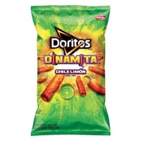 Doritos Dinamita Chile Limn Rolled Flavored Tortilla Chips 9.25 oz. Bag - Walmart.com