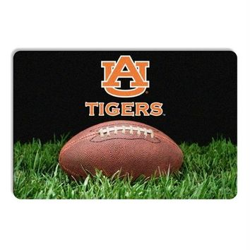 Auburn Tigers Classic Football Pet Bowl Mat