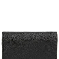 Tory Burch 'Robinson' Saffiano Leather Card Case | Nordstrom