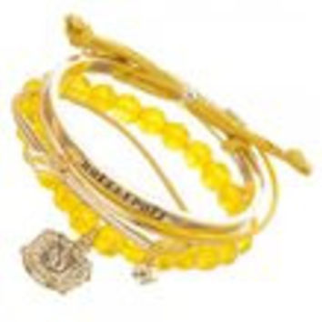 Harry Potter Hufflepuff Arm Party Bracelet Set