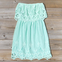 Coyote Lace Dress in Mint