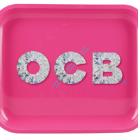 OCB Metal Rolling Tray - Diamond (Large)