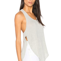 JOAH BROWN Slouchy Tank in Wolf | REVOLVE