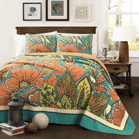 Elliana 3 PC Quilt Bedding Bed Collection