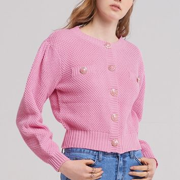 Milla Jewel Button Cardigan