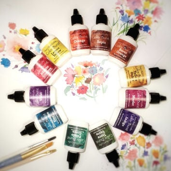 All 12 Color Burst Watercolors by Ken Oliver Crafts - SPECIAL PRICE