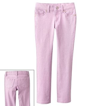 SONOMA life + style Glitter Jeans - Girls