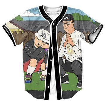King Of The Trill v3 Unisex 3d Baseball Jersey