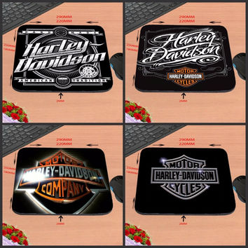 2017 Hot Sell Print Anti-slip New Arrival New Arrival logo harley davidson vector Customized Mouse Pad Computer PC Nice Gaming