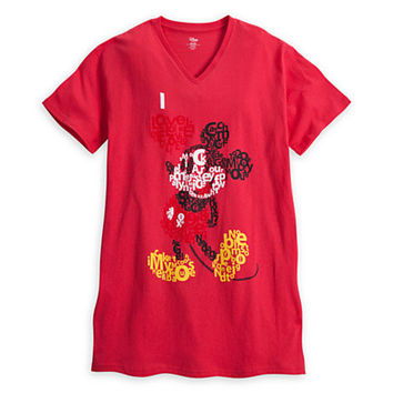 Disney Mickey Mouse Nightshirt for Women | Disney Store