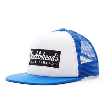 Blue Patch Knuckleheads Trucker Hat