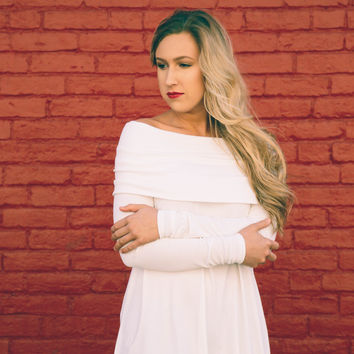 Kelly's Dream Off Shoulder Tunic