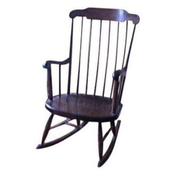 Pre-owned Antique Vermont Sugar Maple Rocking Chair