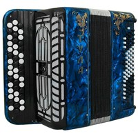 Brand NEW Russian Chromatic Button Accordion, Perfect Bayan for Beginner or Children / Kids, Tula Bn 41, 3 Rows, 80 Bass, Light Weight, Stradella