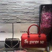 Year-End Promotion 3 Pcs Of Bags Combination (LV SUPREME Bag ,YSL Little Bag ,LV Wallet)