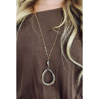 Full Of Life Necklace: Gold/Multi