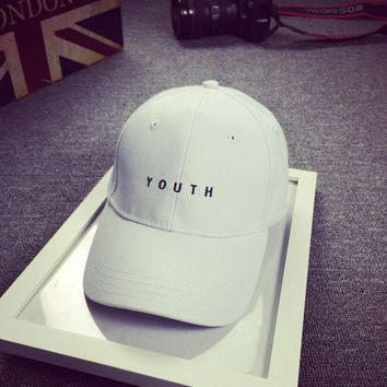 HOT Youth Embroidered Baseball Hat cotton cap