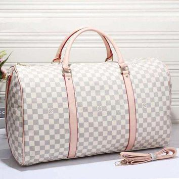 GPON Perfect LV Women Leather Multicolor Luggage Travel Bags Tote Handbag