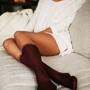 Free People Star Crossed Knee Sock