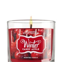 Winter Candy Apple 4 oz. Small Candle   - Slatkin & Co. - Bath & Body Works