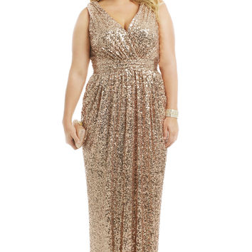 Badgley Mischka Rolling In The Glitz Gown