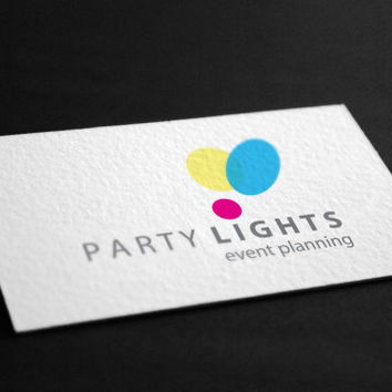 Pre-Made Party Lights Event Planning Occasion Celebration Rentals Accessories Photography Jewelry Any Business Shop Logo
