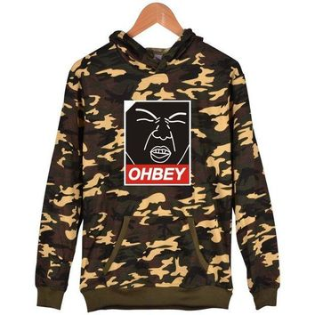 VONL8T Image printing set head hooded sweater men and women