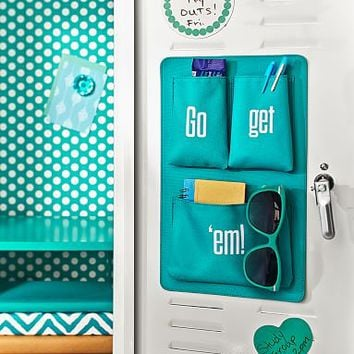 Gear-Up Locker Essentials Pocket, Go Get 'Em