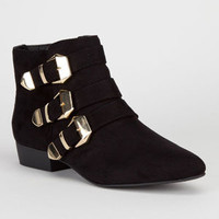 City Classified  Hao Womens Boots Black  In Sizes