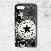 Special! Converse All Star Shoes Pattern Cover For iPhone 7 7+ Hard Plastic Case