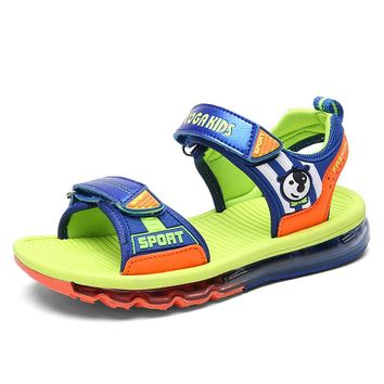COGA High Quality Children Sandals Baby Open Toe Sandals Light Weight Sole Little Boys kids Summe Shoes