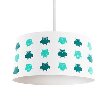 Owls Pattern Pendant Lamp