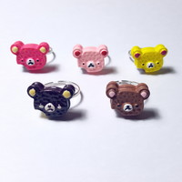 Bear Cookie Ring sold by Hysteric Kingdom