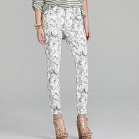 Guess Brittney Skinny Ankle Bloom Print Jeans 26