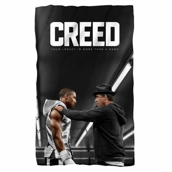 Creed/Poster Fleece Blanket