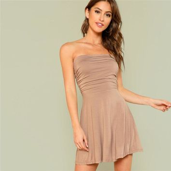 Au Naturel A Line Dress