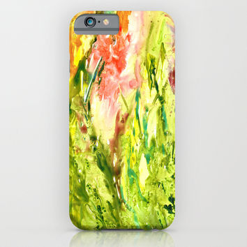 Green Thumb iPhone & iPod Case by Rosie Brown