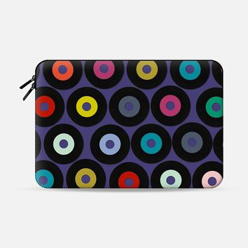 VINYL VIOLET Macbook Pro 13 sleeve by Sharon Turner | Casetify