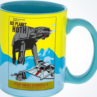 Disney Star Wars The Empire Strikes Back Ice Planet Hoth Ceramic Coffee Mug New