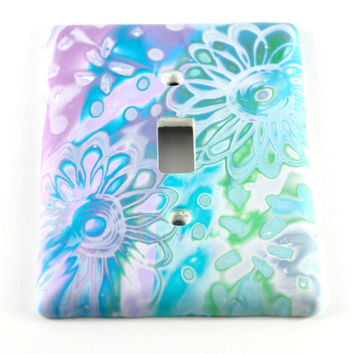 Batik Light Switch Cover, Wall Plate, Wall Switch Cover, Unique Light Switch Cover, Wall Decor, Gift, Light Switch Plate, Home Decor