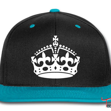 Keep Calm and Carry On Crown Snapback