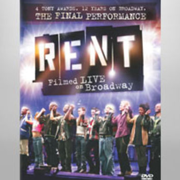Buy Official Rent Broadway Souvenir Merchandise at The Broadway Store