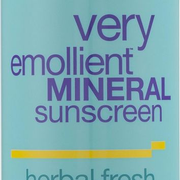 Alba Botanica: Very Emollient Mineral Spray Sunscreen Herbal Fresh Spf 35, 6 Oz