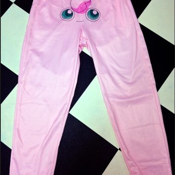 SWEET LORD O'MIGHTY! JIGGLYPUFF SWEATPANTS