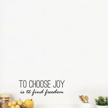 ADzif To Choose Joy Wall Art - Black