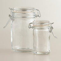 Spice Jars with Clamp Lids, Sets of 6 - World Market