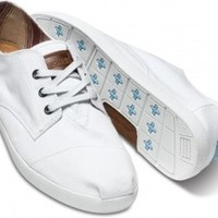 White Canvas Men's Paseos