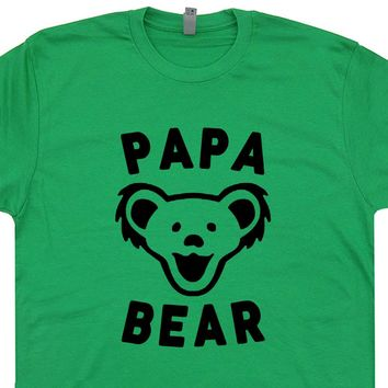 Papa Bear T Shirt Grateful Dead T Shirt Phish T Shirt Widespread Panic T Shirt