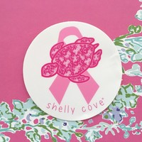 Pick Pink for Breast Cancer Research Sticker