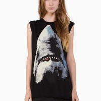 Black Shark Muscle Tee